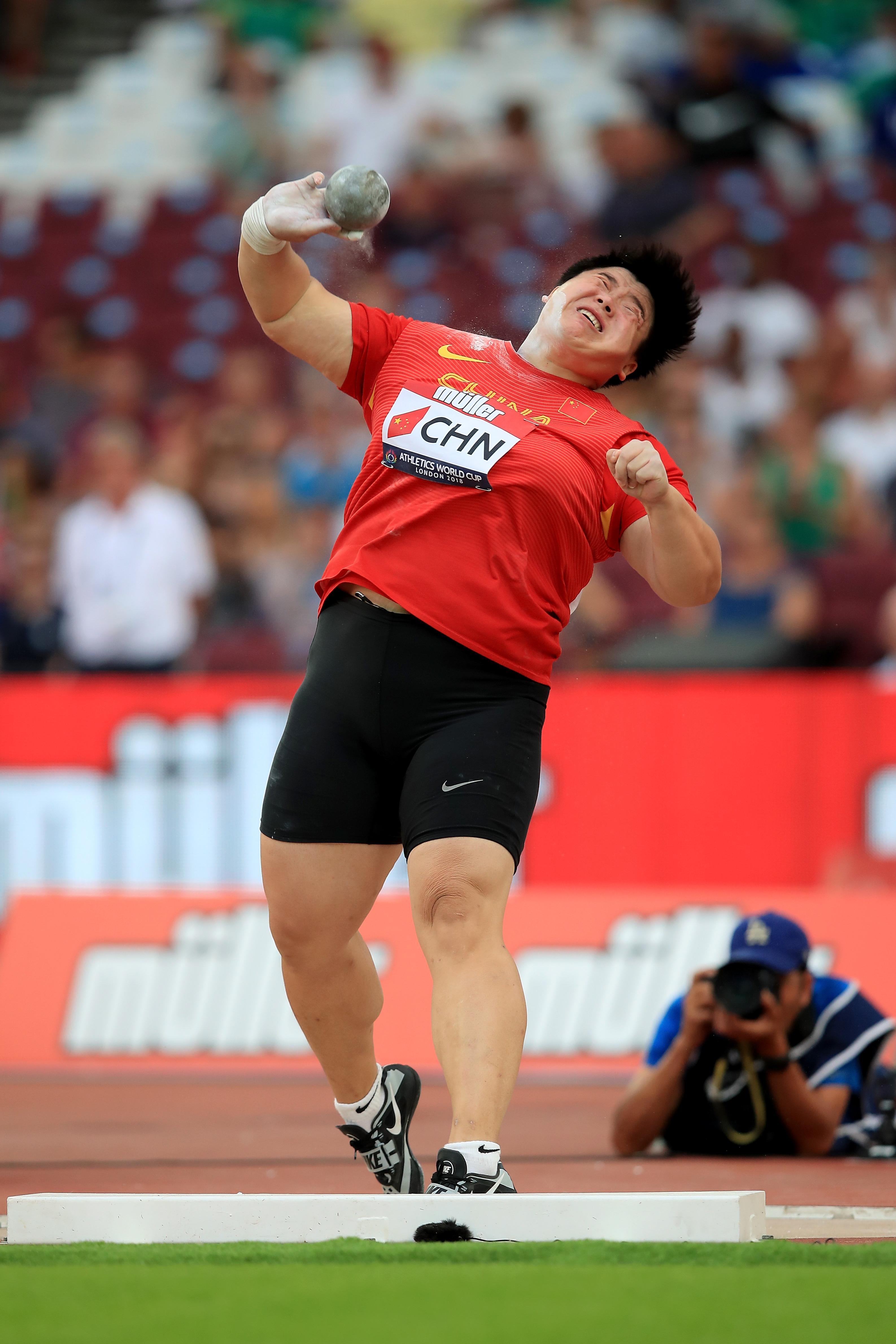中国田径目标: 东京奥运会成绩全面超里约