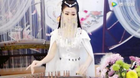 面纱仙女古筝曲《白狐》 打开 三生三世十里桃花舞蹈凉凉,古风舞倾城