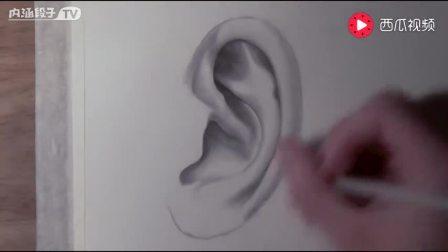 素描绘画 打开 [手绘]一分钟教你画人像 素描版钢铁侠男主 托尼斯塔克