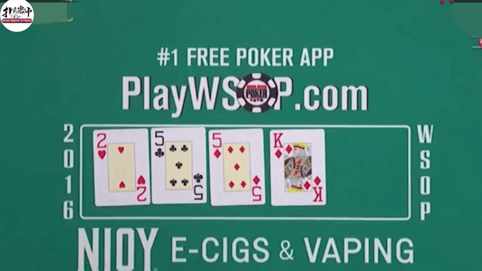 德州扑克: 2016WSOP主赛事经典牌局!