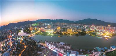 漳州南靖: 宜居山城 情满荆江图片