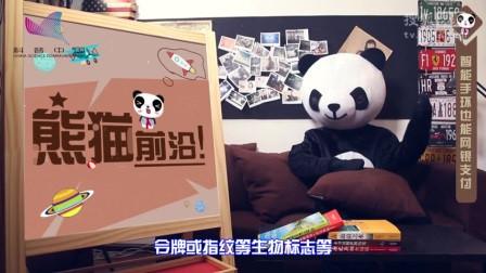 熊猫前沿-智能手环也能网银支付