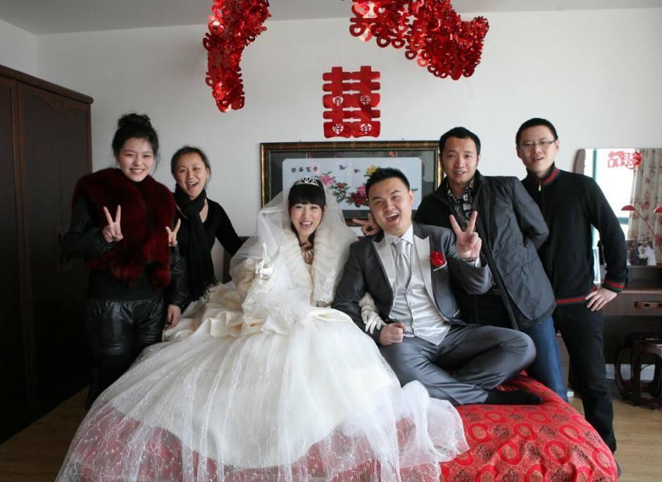 农村房子结婚布置图
