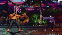 拳皇97 大门对上神乐 这BUG震简直是太酷了