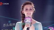 一开口就让人惊呆,俄罗斯美女翻唱演员,薛之谦当场服气