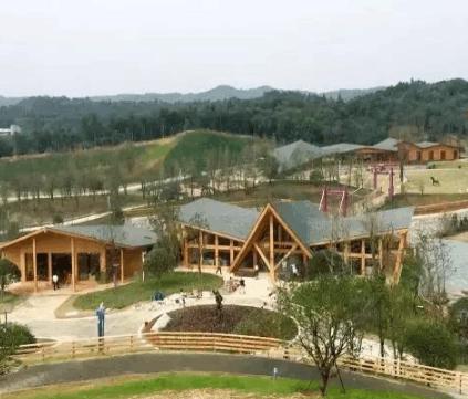 湖南规模最大的现代木结构建筑, 3000平米45天完工