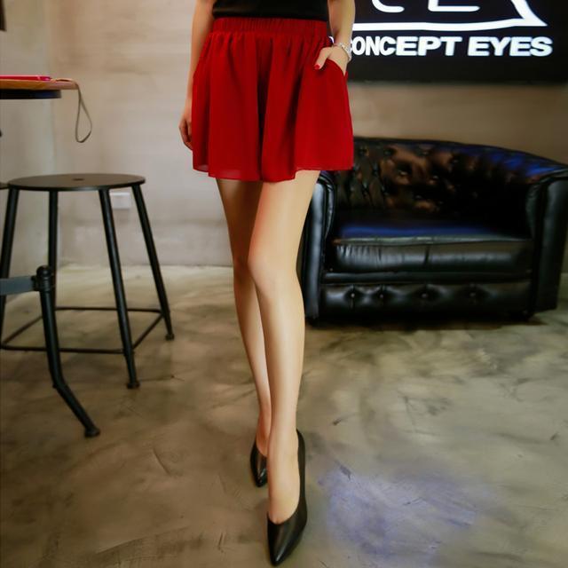 屁股大穿什么半身裙_夏天腿粗屁股大不敢穿裤子? 万能高腰短裤送你完美腿型, 35元起
