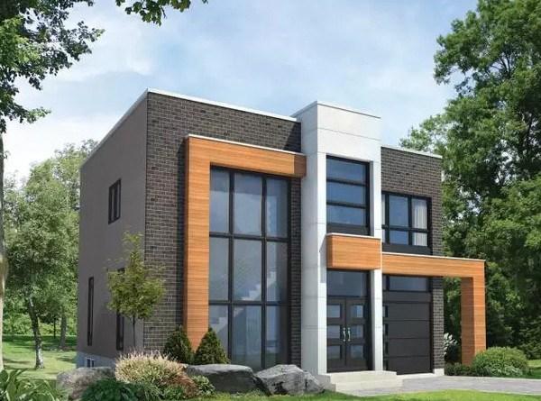 大家4套农村自建房别墅10米x10米两层砖混房屋设计图