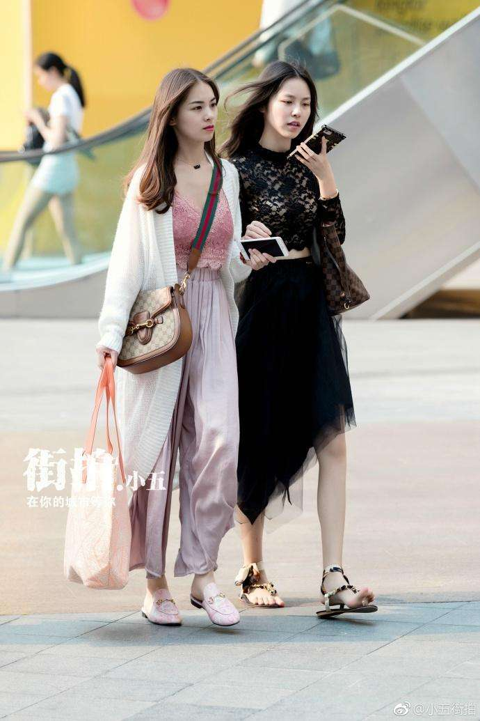 潮人街拍: 重庆美女, 清新优雅, 气质不凡, 仙气十足 2