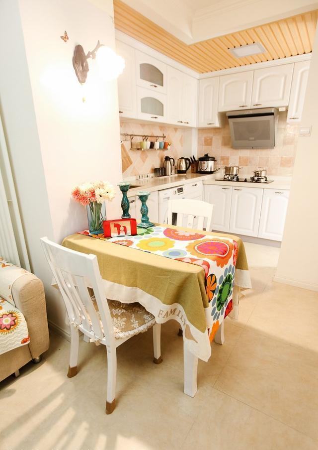 60平小房子装修, 田园风格设计, 很温馨浪漫