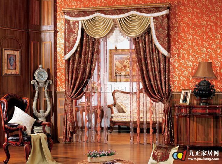欧式窗帘颜色怎么搭配 欧式窗帘的清洁方法