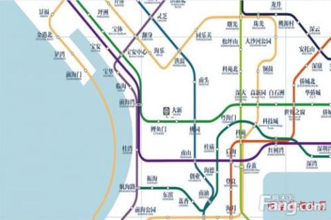 深圳地铁规划图2020终极版出炉 将延伸至东莞惠州