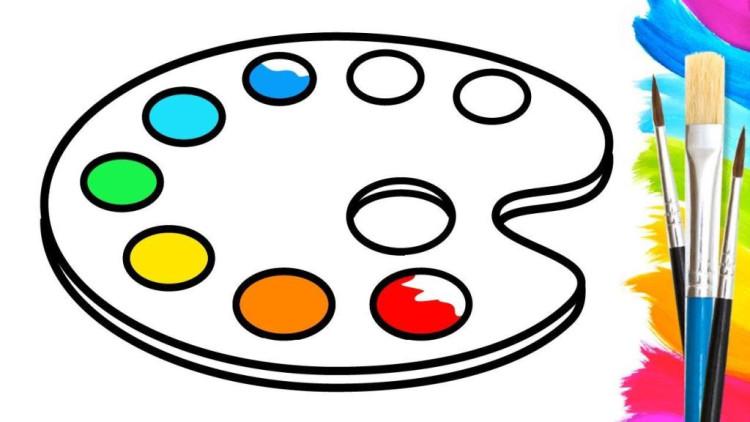 盘子的简笔画步骤