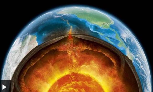 """地球的""""五脏六腑""""地球的内部是怎样的世界?"""