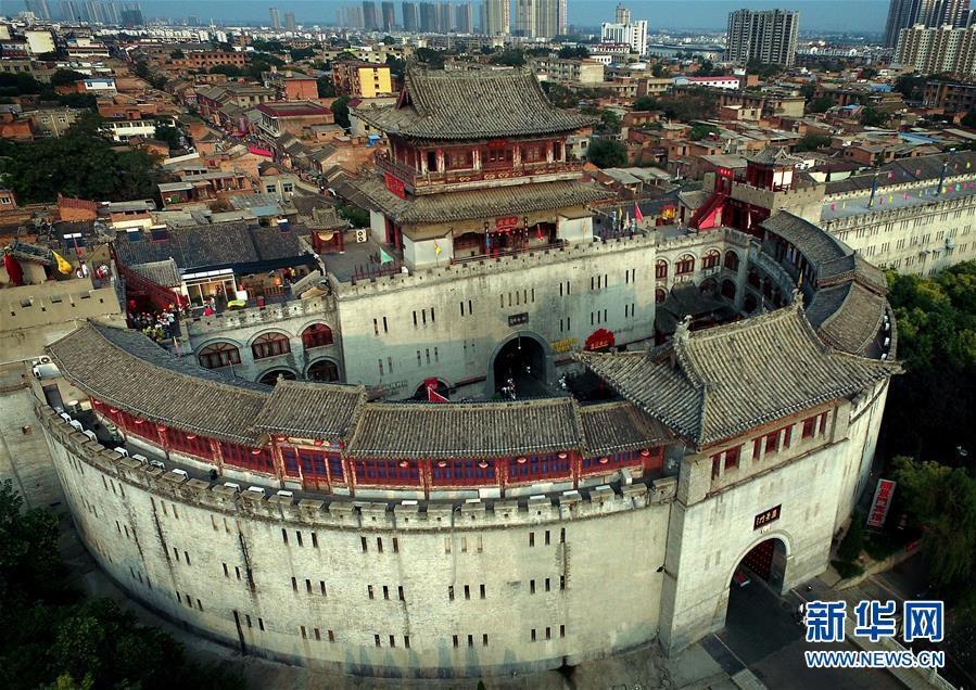 丽景门,这是洛阳古城历史文化最具特色的标志性建筑(8月10日摄).