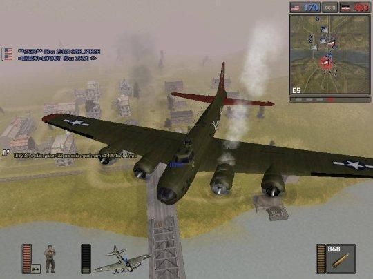 战地1942飞机怎么起飞