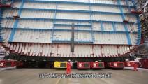 中国超级平板车装880个车轮