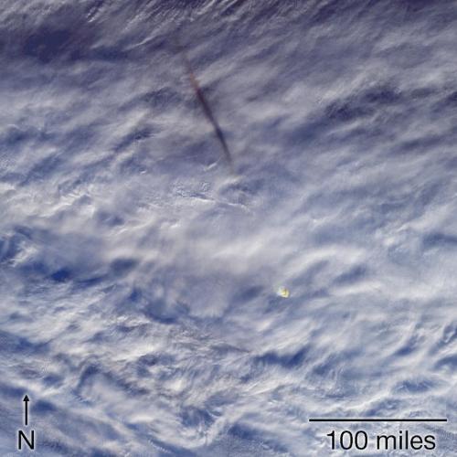 白令海上空一颗流星爆炸 威力是广岛核爆10倍多
