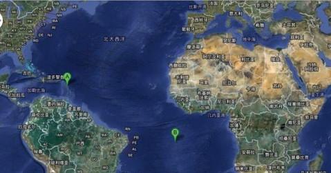 我们大概以婆罗洲,就是相当于现在加里曼丹岛,和我们的雷州半岛为界