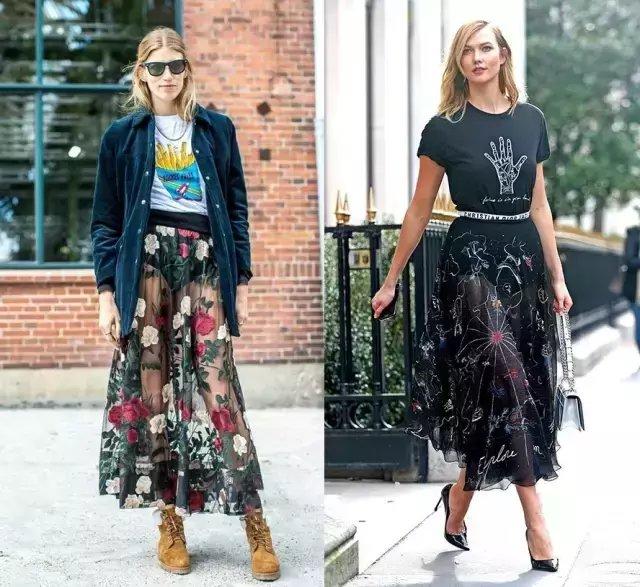 今夏仙气十足的纱裙才是主流, 因为显瘦 26