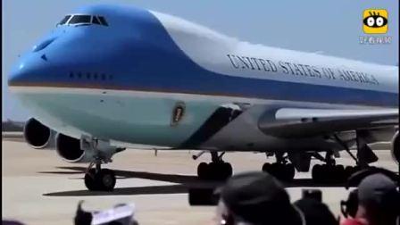 空军一号在米拉玛机场降落