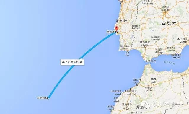 其实在比马黛拉更南的地方还有西班牙的离岛--加那利群岛(三毛与荷西