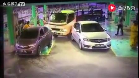 「灵异车祸」大货车无人驾驶突然启动撞向女工,女子当场被撞死!