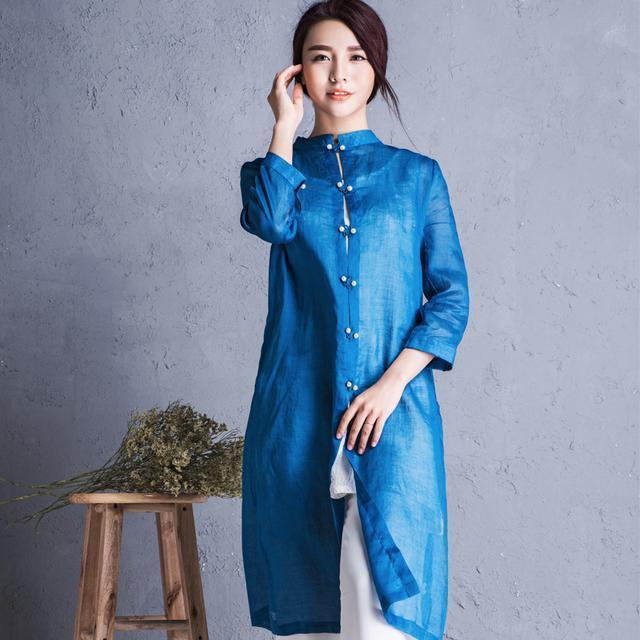 """姑娘不要穿韩版了, """"改良汉服""""才是17年的流行趋势, 优雅大方 15"""