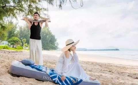 她与小包总在泰国普吉岛