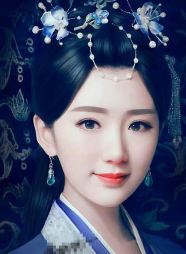 最美的古装手绘, 赵丽颖第二, 第一完全出乎意料!