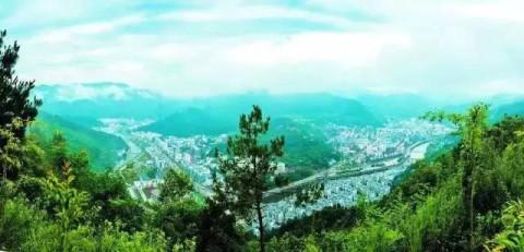 广元青川风景图片