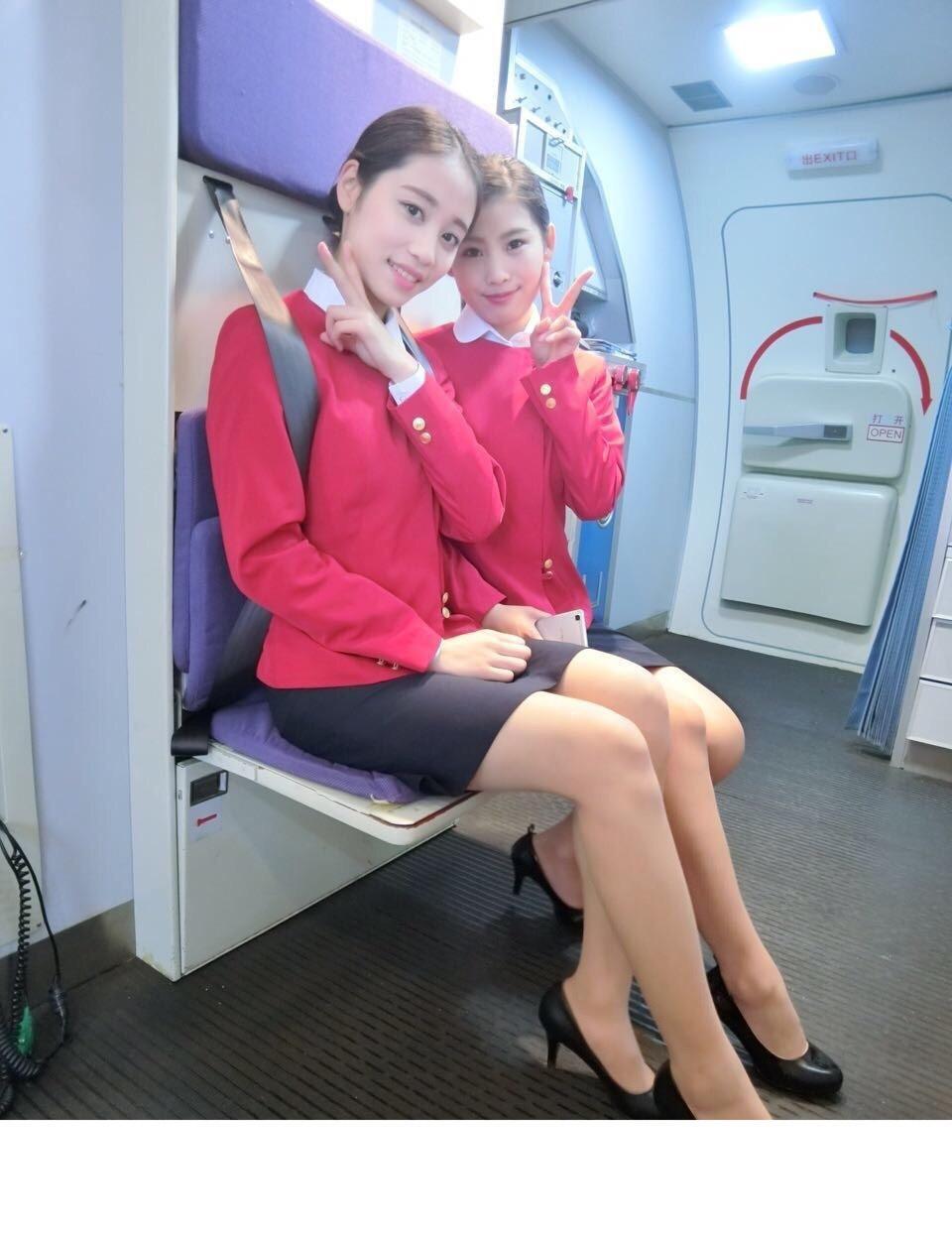 空姐穿丝袜图片