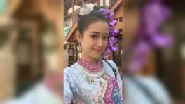 傣族姑娘_美丽傣族姑娘跳舞,太有感觉了!
