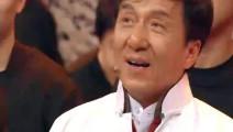 成龙正在做节目,一回头看到背后的人瞬间落泪,观众都感动哭了