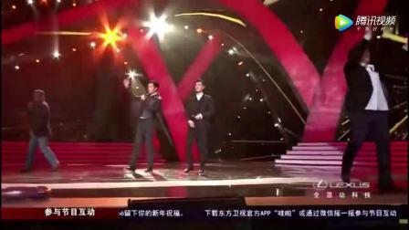 李宗盛、周华健、胡歌、靳东《真心英雄》四位大咖深情演唱