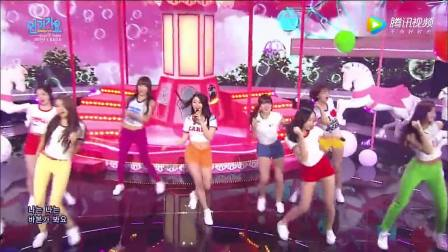 TWIC女团翻唱少女时代的《GEE》