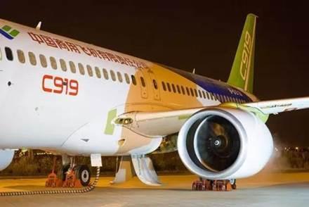 国产大飞机c919明日首飞 已获得全球570架订单