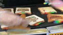 好看又好吃的烤彩虹芝士三明治