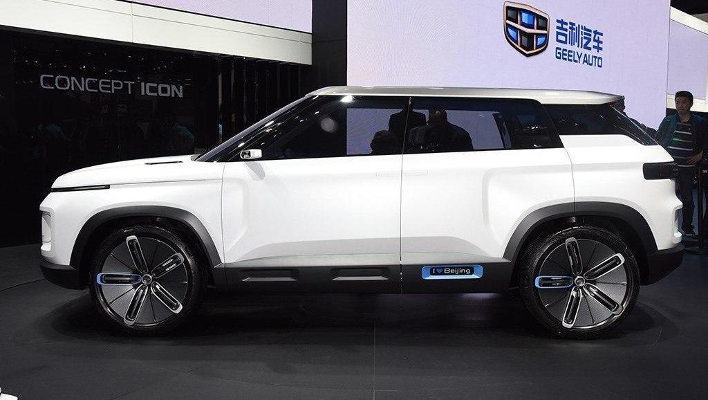 吉利的SUV真越来越漂亮!比博越更好看,领克01和VV7也比不了