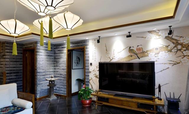 中式电视背景墙风格鉴赏 感受古典韵味-uc头条
