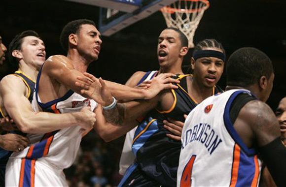 NBA历史上短短的5天内竟然上演了3次群殴