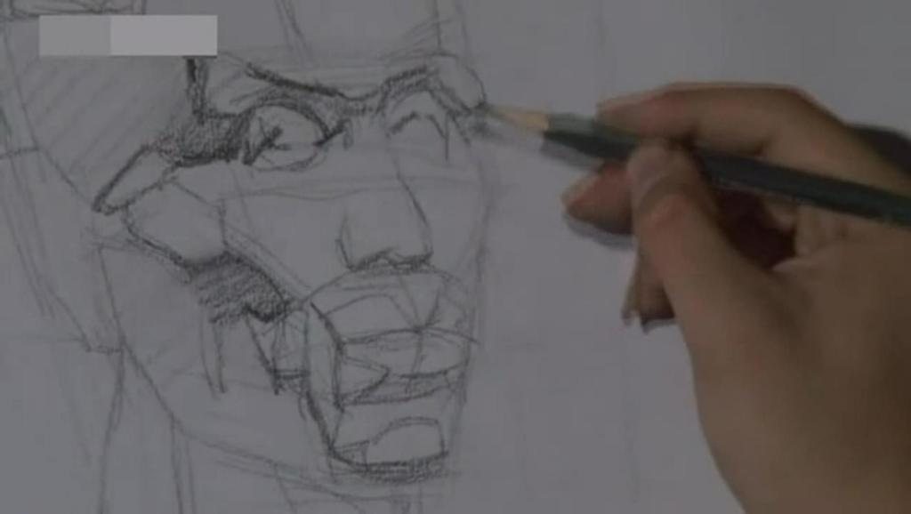 打开 一字眉铅笔和画法素描 写生速写风景图片 少儿铅笔素描入门 广告