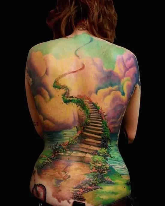 纹身素材——背部刺青