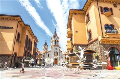 世园罗曼小镇 打造欧式特色景观街区