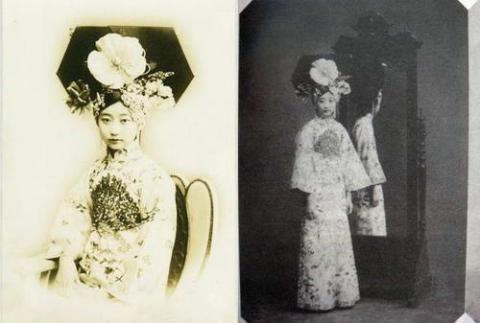 清朝最美格格王敏彤,气质美女一个,比什么嫔妃好看多了.
