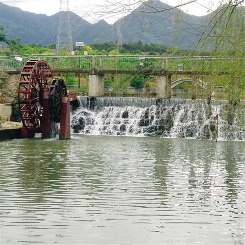 广西武鸣大明山风景区有村庄