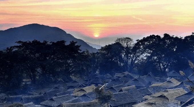 孟连金山风景区图片