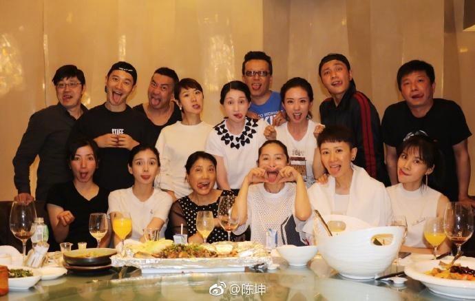 黄晓明陈坤老同学二十年聚会, 带baby参加同学会几个意思