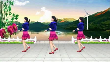 场舞爱你一辈子_靓靓群广场舞《32步对跳 (希望今天遇见你)》