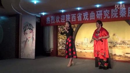 秦腔-红灯记-选段-武红霞演唱